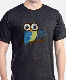 Owl Art I'm A Hoot T-Shirt