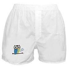 Owl Art I'm A Hoot Boxer Shorts