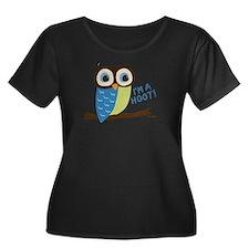 Owl Art I'm A Hoot T