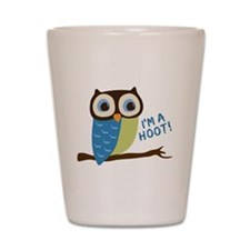 Owl Art I'm A Hoot Shot Glass