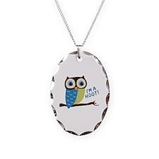 Owl Art I'm A Hoot Necklace