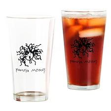 Pamela Means • self-portrait logo Drinking Glass