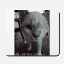 Support disabled cats-I didn't choose Mousepad