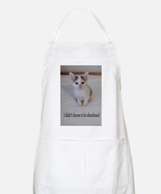 Support abandoned animals-I didn't choose Apron