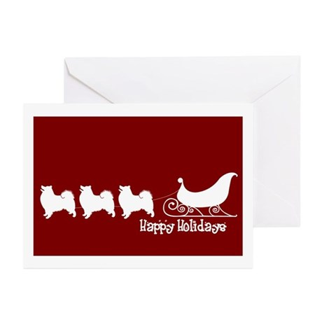 "Am Eskimo ""Sleigh"" Greeting Cards (Pk of 10)"