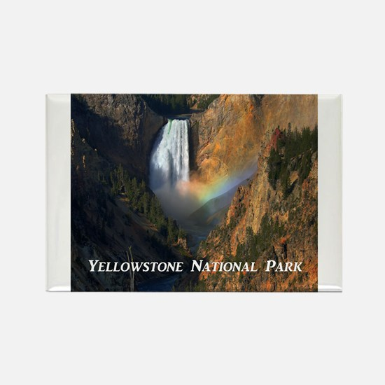 Yellowstone National Park Rectangle Magnet