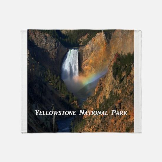 Yellowstone National Park Throw Blanket