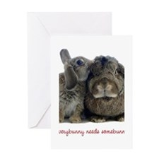 somebunny2 Greeting Cards
