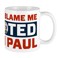 I Voted For Ron Paul Mug