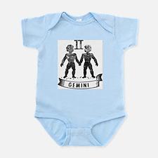 GEMINI Retro Astrology Baby Infant Bodysuit