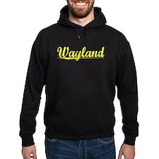 Wayland, Yellow Hoodie