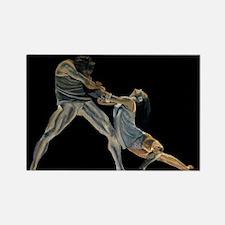 dancers.jpg Rectangle Magnet