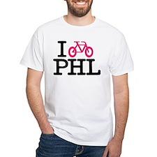 2-bike phl cafe press lg.eps T-Shirt