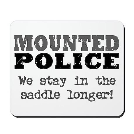 Mounted Police Saddle Mousepad