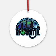 Northern Wisconsin NORML Logo Ornament (Round)