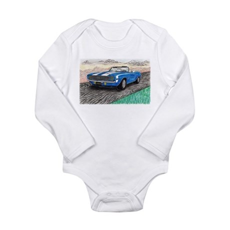 The Classic 1969' Camaro SS 396' Long Sleeve Infan