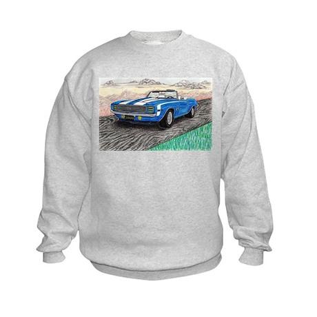 The Classic 1969' Camaro SS 396' Kids Sweatshirt