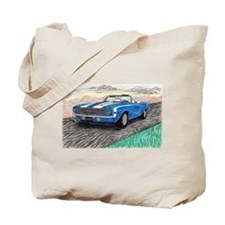 The Classic 1969' Camaro SS 396' Tote Bag