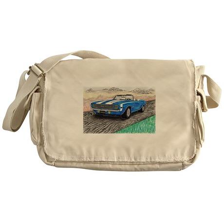 The Classic 1969' Camaro SS 396' Messenger Bag