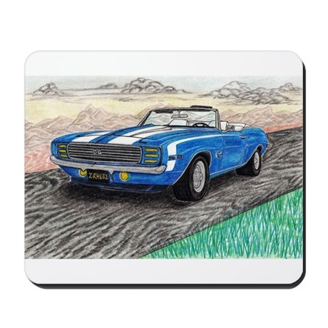 The Classic 1969' Camaro SS 396' Mousepad