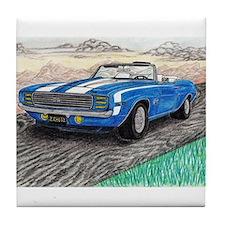 The Classic 1969' Camaro SS 396' Tile Coaster