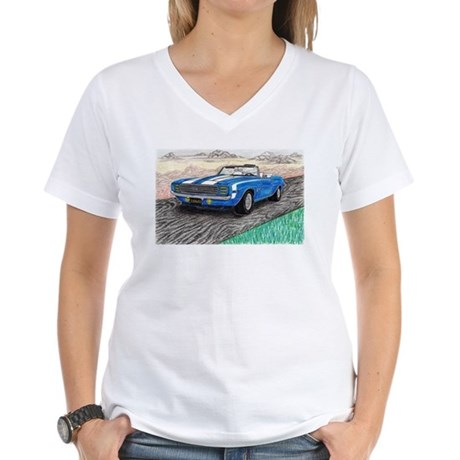 The Classic 1969' Camaro SS 396' Women's V-Neck T-