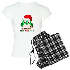Christmas Owl Hoo Hoo Hoo Pajamas