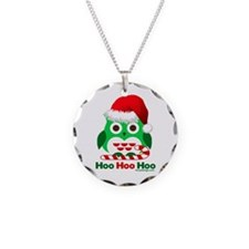 Christmas Owl Hoo Hoo Hoo Necklace