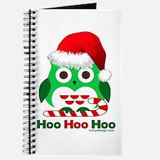 Christmas Owl Hoo Hoo Hoo Journal