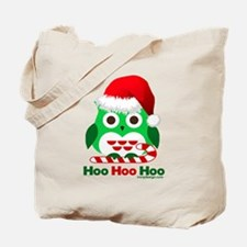 Christmas Owl Hoo Hoo Hoo Tote Bag