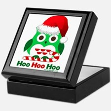 Christmas Owl Hoo Hoo Hoo Keepsake Box