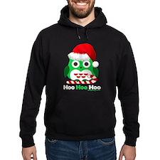 Christmas Owl Hoo Hoo Hoo Hoodie