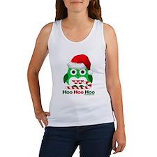 Christmas Owl Hoo Hoo Hoo Women's Tank Top