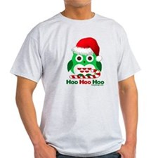 Christmas Owl Hoo Hoo Hoo T-Shirt