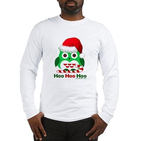 Christmas Owl Hoo Hoo Hoo Long Sleeve T-Shirt