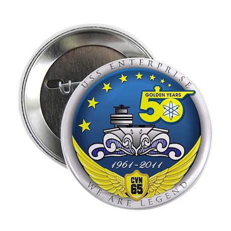 "USS Enterprise At 50! 2.25"" Button"