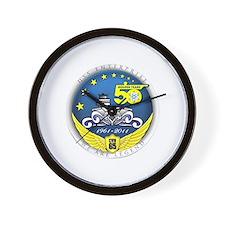 USS Enterprise At 50! Wall Clock