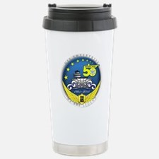 USS Enterprise At 50! Travel Mug