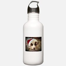 Christmas Pyrenees Sports Water Bottle