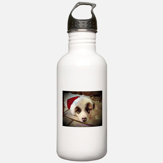 Christmas Pyrenees Water Bottle