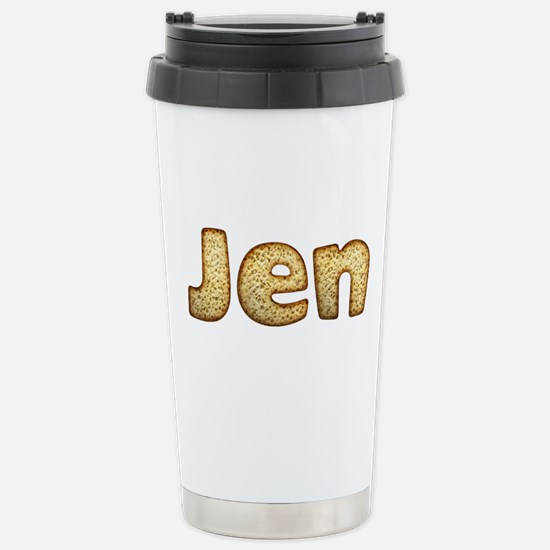 Jen Toasted Stainless Steel Travel Mug