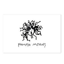 Pamela Means • Logo Postcards (Package of 8)