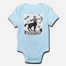 SAGITTARIUS Retro Zodiac Baby Infant Bodysuit