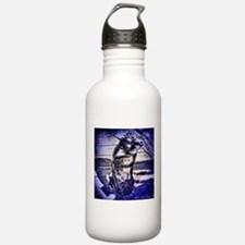 Blue Snowdog Sports Water Bottle