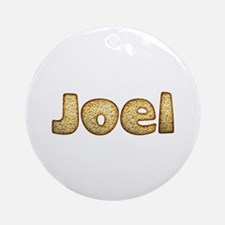 Joel Toasted Round Ornament