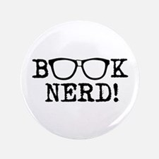 "Book Nerd 3.5"" Button"