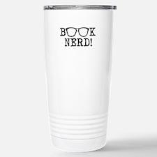 Book Nerd Stainless Steel Travel Mug