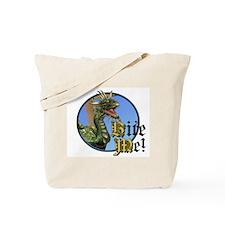 Bite Me Dragon Tote Bag