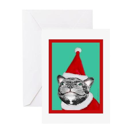 MerryFrenchElf_gc Greeting Cards