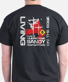 Hurricane Sandy Lineman T-Shirt